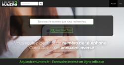 savoir comment connaitre un numéro masqué grâce à aquiestcenumero.fr